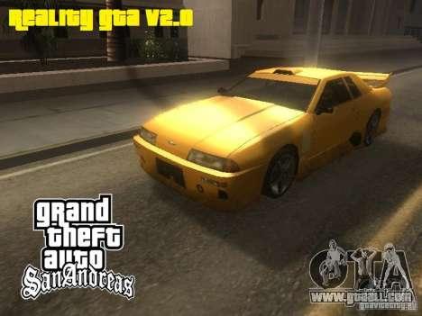 Reality GTA v2.0 for GTA San Andreas