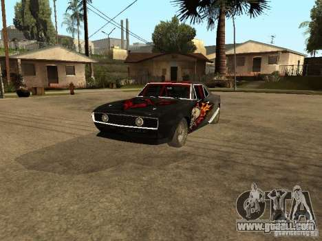 Chevrolet Camaro SS Dragger for GTA San Andreas