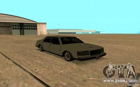 FBI Washington for GTA San Andreas side view