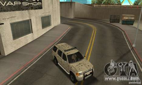 Ford Explorer 2002 for GTA San Andreas engine