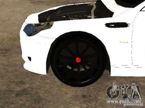 Bmw M5 Ls Ninja Stiil for GTA San Andreas side view