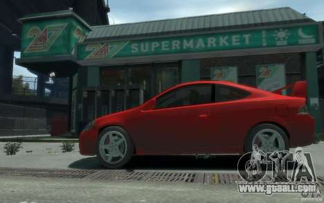 Acura RSX for GTA 4 back left view