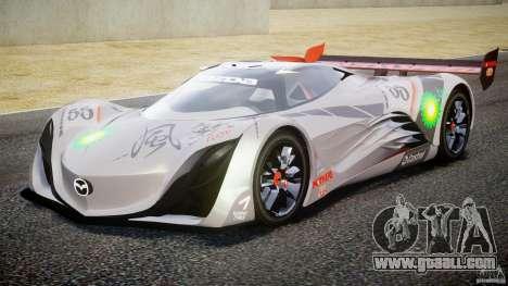 Mazda Furai Concept 2008 for GTA 4 left view