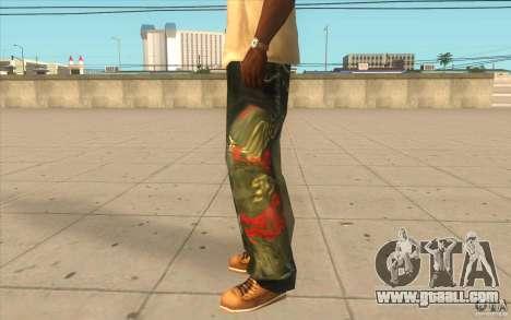 Hip-hop jeans for GTA San Andreas second screenshot