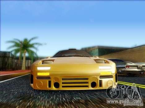 Diablo-Seven for GTA San Andreas back left view