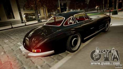 Mercedes-Benz 300 SL Gullwing for GTA 4 right view