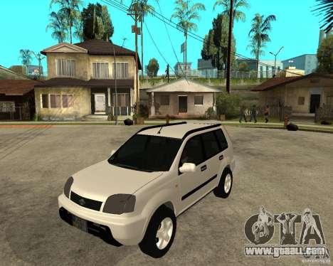 NISSAN X-TRAIL 2001 for GTA San Andreas