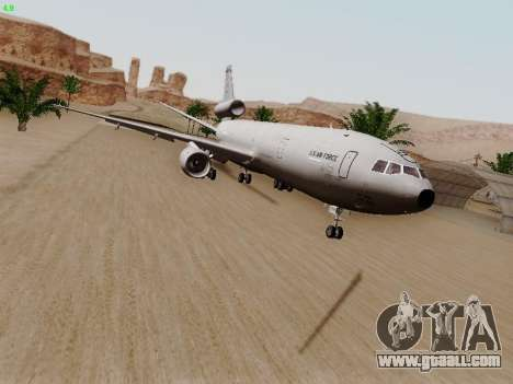 McDonell Douglas KC-10A Extender for GTA San Andreas left view
