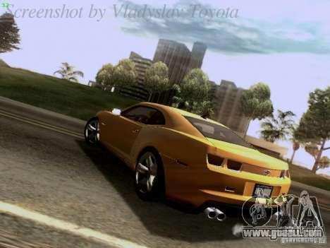 Chevrolet Camaro ZL1 2012 for GTA San Andreas