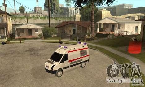 Volkswagen Crafter Ambulance for GTA San Andreas