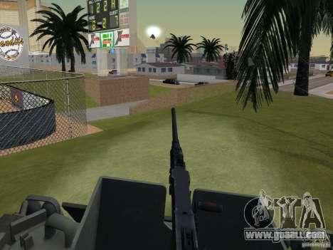 Bottom Feeder for GTA San Andreas back view