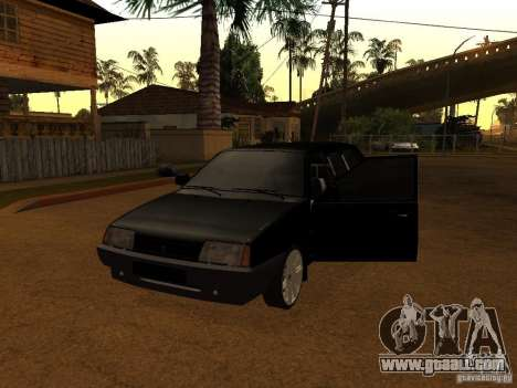 VAZ 21099 Limousine for GTA San Andreas left view