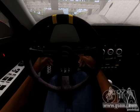Lexus IS300 Hella Flush for GTA San Andreas bottom view