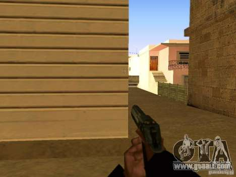 Desert Eagle MW3 for GTA San Andreas seventh screenshot