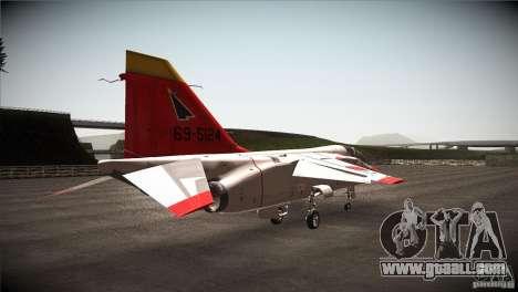 Mitsubishi T-2 for GTA San Andreas right view