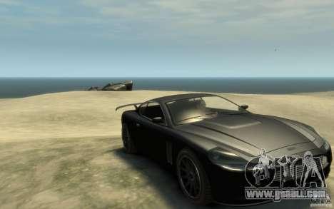 Aston Martin DB9 Super GTR beta for GTA 4 back view