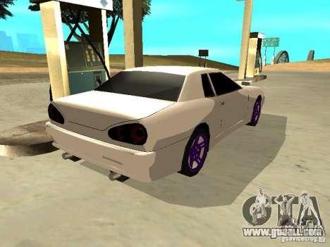 New Elegy v.1 for GTA San Andreas back left view