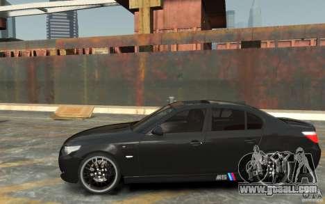 BMW M5 Hamman for GTA 4 left view
