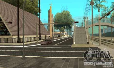 New road surface for GTA San Andreas second screenshot