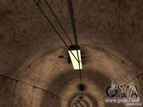 High speed RAILWAY line for GTA San Andreas third screenshot