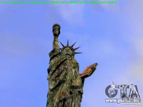 Statue of liberty 2013 for GTA San Andreas