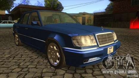Mersedes-Benz E500 for GTA San Andreas side view