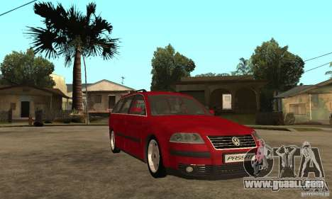 VW Passat B5+ Variant for GTA San Andreas back view