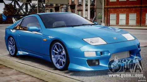 Nissan 300 ZX 1994 v1.0 for GTA 4 left view