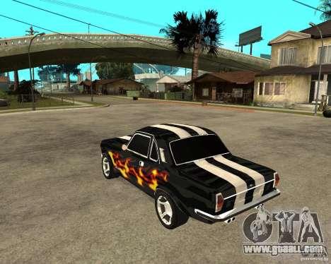 GAZ 2410 Camaro Edition for GTA San Andreas left view