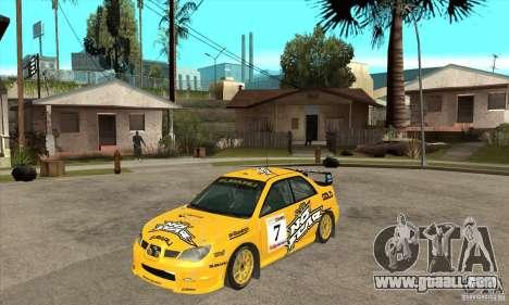 Subaru Impreza STi WRC wht1 for GTA San Andreas