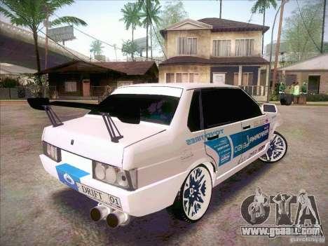 VAZ 21099 Drift Style for GTA San Andreas left view