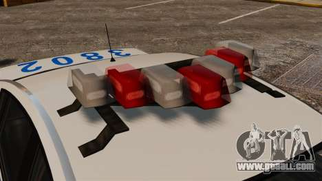 Police Pinnacle ESPA for GTA 4 back view