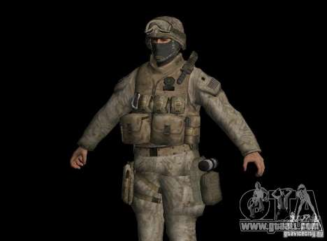 Skin Marine for GTA San Andreas