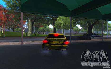 BMW M5 Gold Edition for GTA San Andreas side view