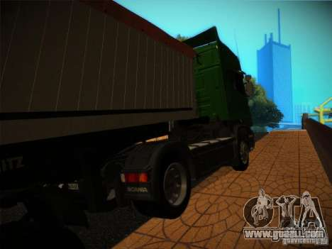 Scania R580 for GTA San Andreas left view
