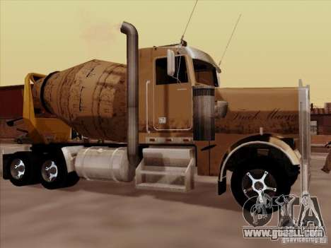 Kenworth W 900 for GTA San Andreas left view