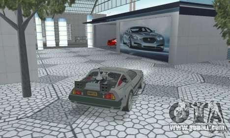 DeLorean DMC-12 (BTTF2) for GTA San Andreas left view