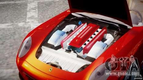 Ferrari 612 Scaglietti custom for GTA 4 inner view