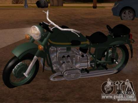 Ural m-67 36 for GTA San Andreas left view