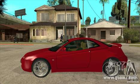 Alfa Romeo GTV for GTA San Andreas left view