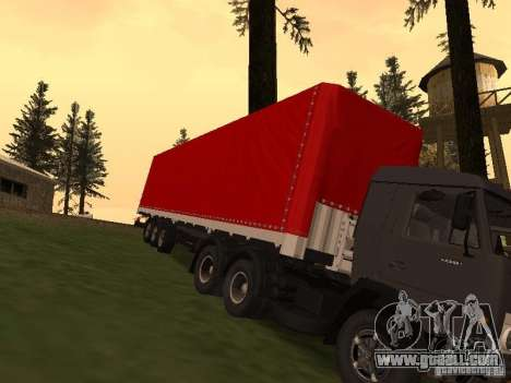 Nefaz 93344 Red for GTA San Andreas back view