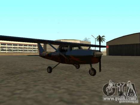 A new plane-Dodo for GTA San Andreas right view