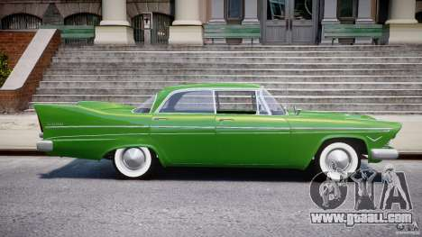 Plymouth Belvedere 1957 v1.0 for GTA 4 side view