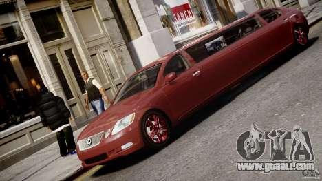 Lexus GS450 2006 Limousine for GTA 4