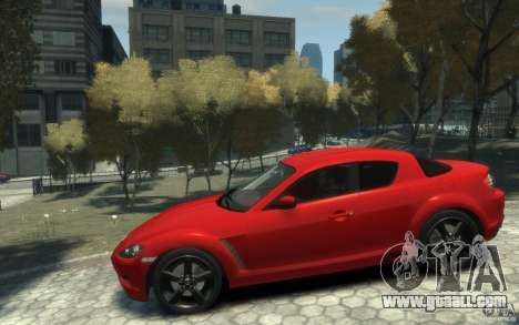 Mazda RX-8 (2006) for GTA 4 left view