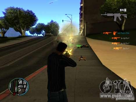 KILL LOG for GTA San Andreas third screenshot