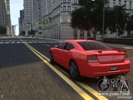 Dodge Charger SRT8 2006 for GTA 4 bottom view