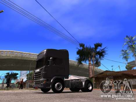 Scania R-440 for GTA San Andreas back left view