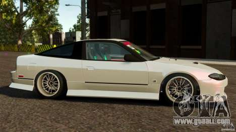 Nissan 240SX facelift Silvia S15 [RIV] for GTA 4 left view