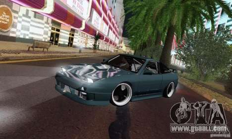 Nissan 180SX for GTA San Andreas side view